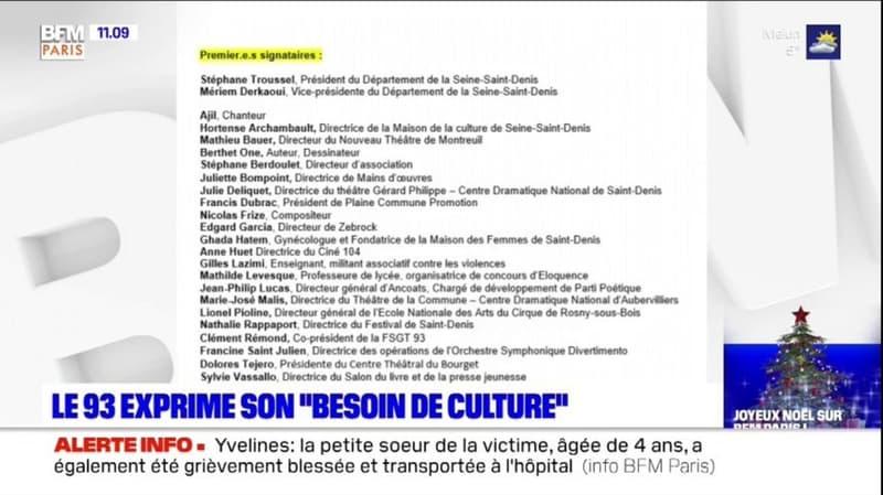 Seine-Saint-Denis: professionnels et élus expriment leur