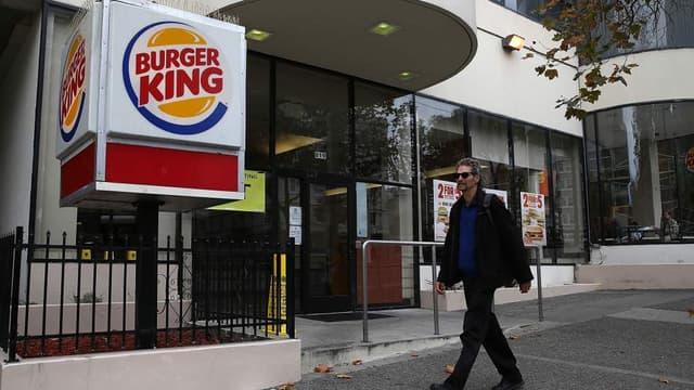 """Burger King réaliserait une """"fusion fiscale""""."""