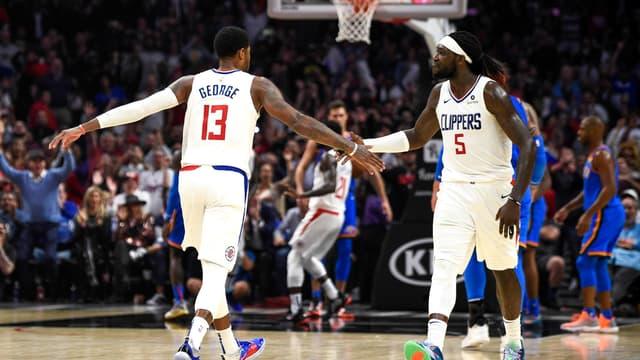 Montrezl Harrell & Paul George ( LA Clippers)