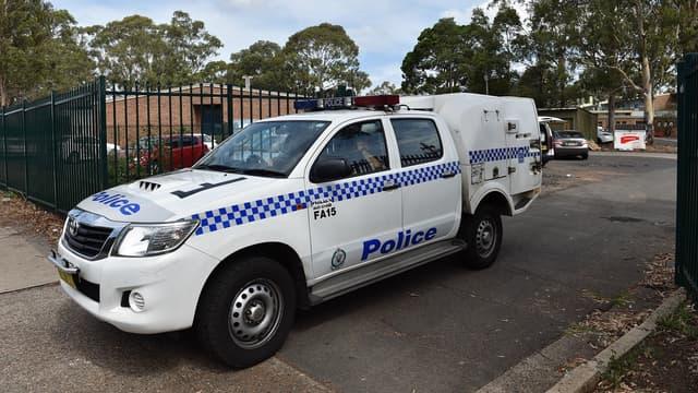 Une voiture de police australienne. (Photo d'illustration)