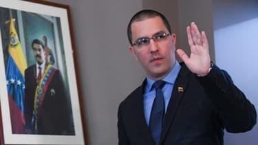 Jorge Arreaza, chef de la diplomatie vénézuélienne
