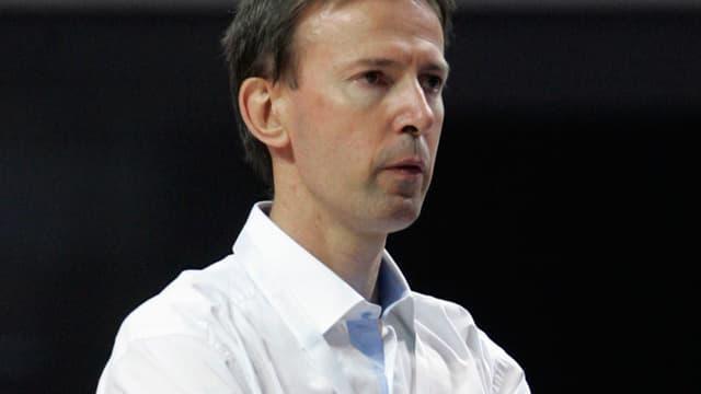Vincent Collet, sélectionneur de l'équipe de France de basket