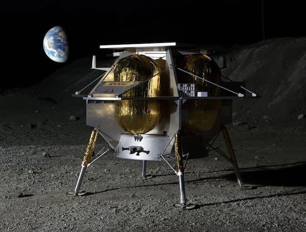 Le futur alunisseur transportera 35 kg de chargement à but scientifique et d'exploration pour son premier lancement en 2019.