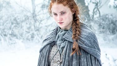 "Sophie Turner alias Sansa Stark dans la série ""Game of Thrones"""