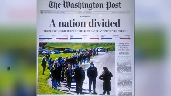 La Une du Washington Post