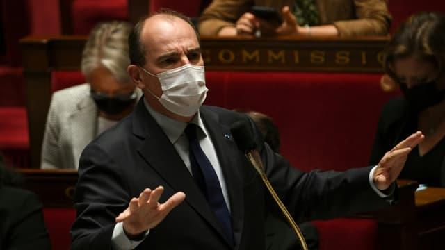 Le Premier ministre Jean Castex mardi 22 juin 2021 à l'Assemblée nationale (photo d'illustration)