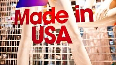 Les Etats-Unis semblent avoir perdu leur aura de prescripteur mondial en matière d'habillement. (Photo: vitrine d'American Apparel)