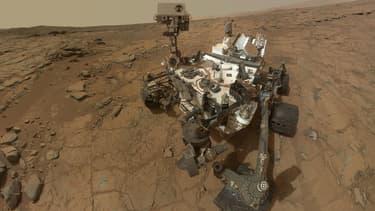 Le Rover Curiosity, sur la planète Mars depuis août 2012, a détecté des émanations de méthane d'une source inconnue.