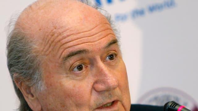 Joseph Blatter, actuel président de la FIFA