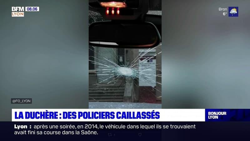 Lyon: des policiers caillassés à La Duchère