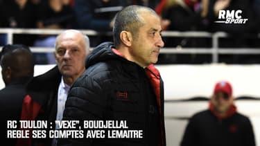 """RC Toulon : """"Vexé"""", Boudjellal règle ses comptes avec Lemaître"""