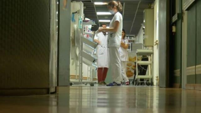 Un couloir d'hôpital - Image d'illustration