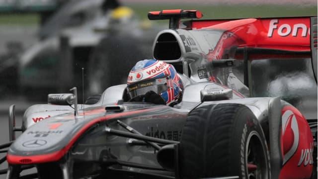 Jenson Button a conservé sa troisième place
