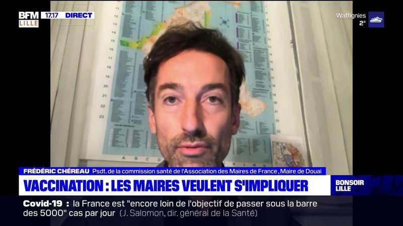 Frédéric Chéreau, maire de Douai, souhaite que les municipalités s'impliquent dans la campagne de vaccination