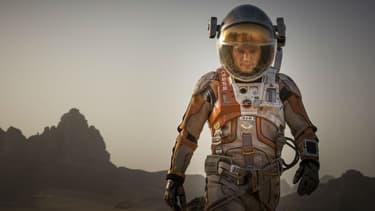 """""""Seul sur Mars"""" avec Matt Damon sort au cinéma le 21 octobre 2015."""