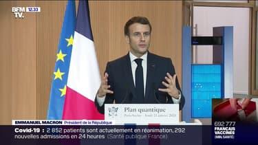 """Emmanuel Macron: """"Nous sommes devenus une nation de 66 millions de procureurs"""""""