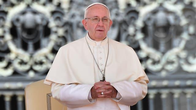 Le pape François sur la place Saint-Pierre, le 29 août 2018 au Vatican.