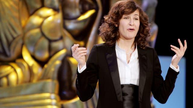 Maîtresse de cérémonie en 2007, Valérie Lemercier s'est adonnée à de véritables performances