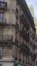 Incendie à Notre-Dame de Paris des rues adjacentes - Témoins BFMTV