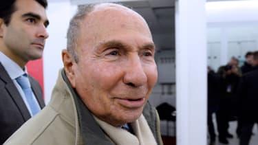 Serge Dassault, ancien maire de Corbeil-Essonnes, le 19 novembre 2013, à Paris