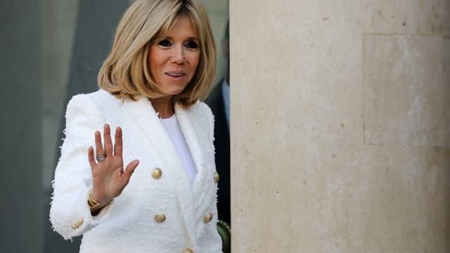 Brigitte Macron, le 21 février 2018.