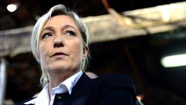 La présidente du Front national Marine Le Pen, ici en visite à Marseille
