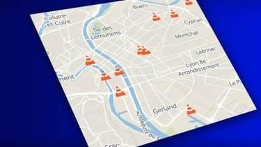De nombreux chantiers auront lieu cet été à Lyon.