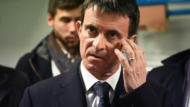 Manuel Valls le 15 décembre 2016 à la Rochelle.