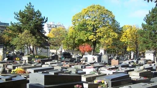 Le cimetière de Belleville à Paris.