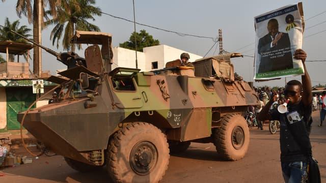 Militaires français en opération en Centrafrique