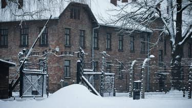 Le camp de concentration d'Auschwitz-Birkenau, en Pologne, le 25 janvier 2015.