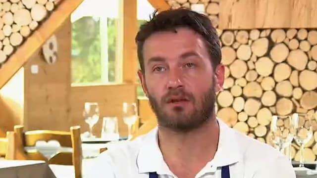"""Julien Machet, candidat de l'émission """"Top chef"""", éliminé lundi 23 février."""