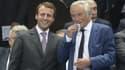 Emmanuel Macron et François Rebsamen ne sont pas tout à fait sur la même longueur d'onde quant à la réduction du temps de travail.