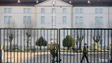 La caserne du 8ème régiment d'infanterie de marine (RPIMA) à Castres.