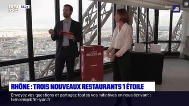 Guide Michelin: trois nouveaux étoilés dans le Rhône dont deux à Lyon