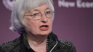 Janet Yellen, la présidente de la banque centrale américaine.
