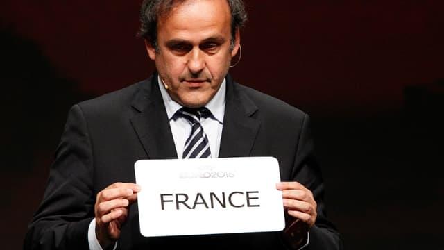 La France a été choisie pour organiser l'Euro 2016