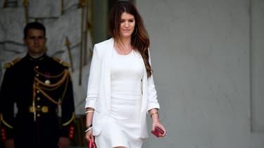 Marlène Schiappa quitte le Palais de l'Élysée le 19 juillet 2017