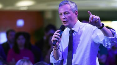 Bruno Le Maire, entré très tôt en campagne pour l'UMP, a participé à plus de 100 meetings depuis le début de l'année 2014.