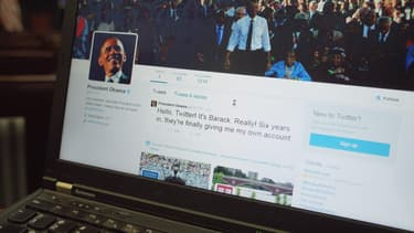 Barack Obama a ouvert son compte Twitter personnel, lundi 18 mai.