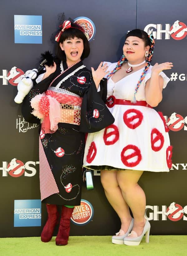 Naomi Watanabe (à droite sur la photo) en 2016