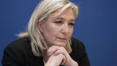 Marine Le Pen, le 16 janvier 2015.