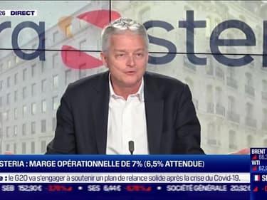 Vincent Paris (Sopra Steria) : Sopra Steria, chiffre d'affaires de 4,26 milliards d'euros, en baisse de 4,8 % - 26/02