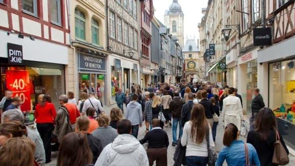 Les ménages français ont moins consommé en avril.