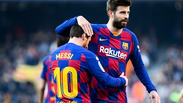 Messi et Piqué