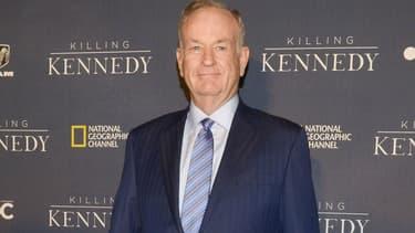 """Bill O'Reilly, présentateur phare de Fox News, lors de la première de """"Killing Kennedy"""" à Washington en 2013"""