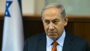 Le Premier ministre israélien Benjamin Netanyahu le 28 juin 2015 à Jérusalem lors d'un conseil des ministres