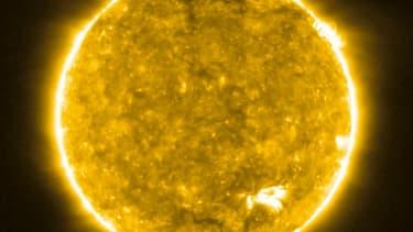 Une image du Soleil prise par la sonde Solar Orbiter et diffusée le 16 juillet.