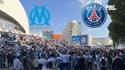 OM - PSG : déjà beaucoup d'ambiance (et pas mal de monde) sur le parvis du Vélodrome