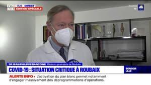 """Covid-19: la situation critique à Roubaix s'explique par """"l'indiscipline d'un certain nombre de citoyens"""""""